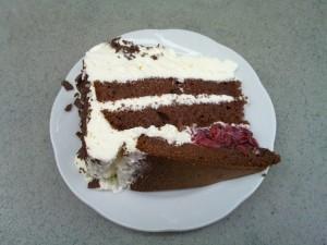 Black Forest cherry cake (»Schwarzwälder Kirschtorte«)