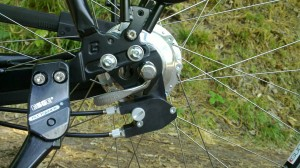 Rohloff dorpout system