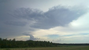 Heavy Weather brewing near Wissembourg