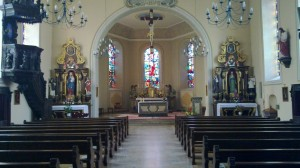 L'église de Salmbach...