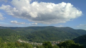 The valley of the Murg above Weisenbach