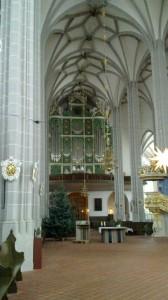 The sun organ of St. Peter and Paul in Görlitz