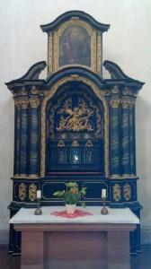 A shrine of Schwarzach minster