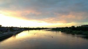 The Oder near Frankfurt