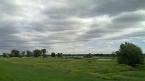 Landscape of the Oder valley