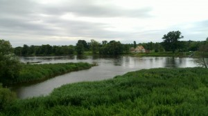 The island of Küstrin
