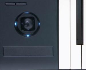 Korg Kronos ribbon controller and joystick