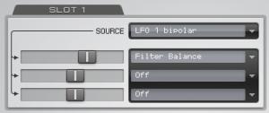Virus Control Filter Balance Modulation
