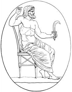Kronos (greek, aka Saturnus, latin)