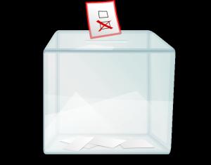 Ballot box (openclipart.org, public domain)