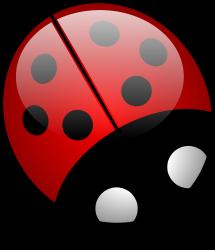 Ladybug (openclipart.org, Public Domain)