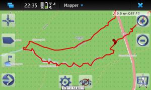 Maemo Mapper on Maemo 5