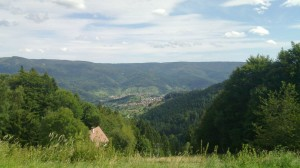 Murg valley as seen from Rote Lache
