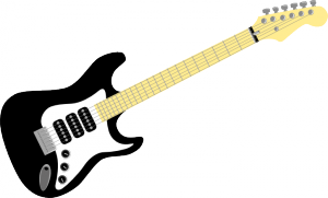 Electric Guitar (openclipart.org, public domain. Thanks, guys!)