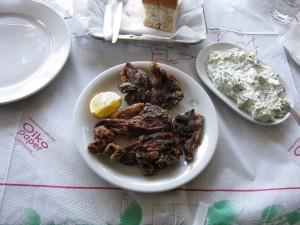 Lamb Chops with Tsatsiki