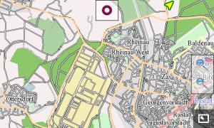 Rastatt in Monav (data by osm and contributors, CC-by-SA)