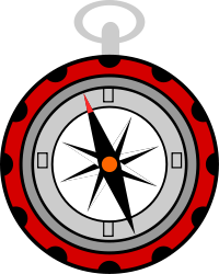 Travel-compass (openclipart.org, public domain)